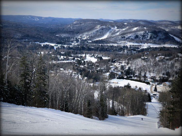 Sommet Olympia, Piedmont-13 février 2018- Il y a le lundi sans viande, voici le mardi en ski!