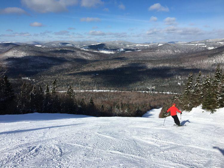 Mont Sainte-Anne – Soleil, ferme et rapide ! – 17 février 2018