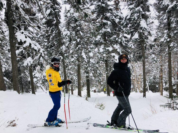 Mont-Tremblant – Une super belle journée – 10 mars 2018