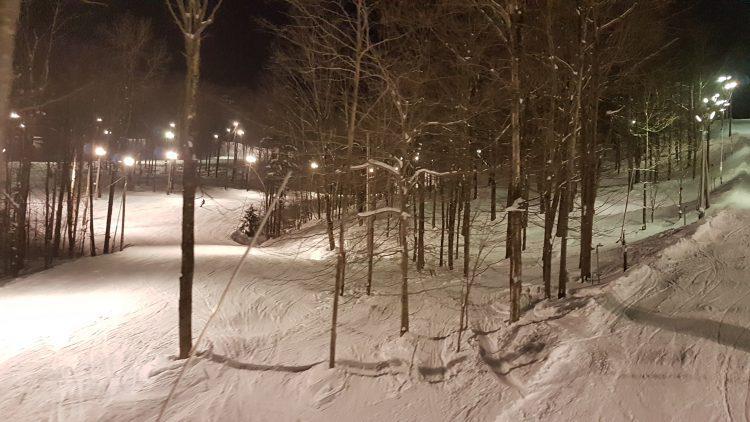 Ski Bromont — 15 Mars 2018  — Une soirée exceptionnelle, Ah comme la neige a neigé !