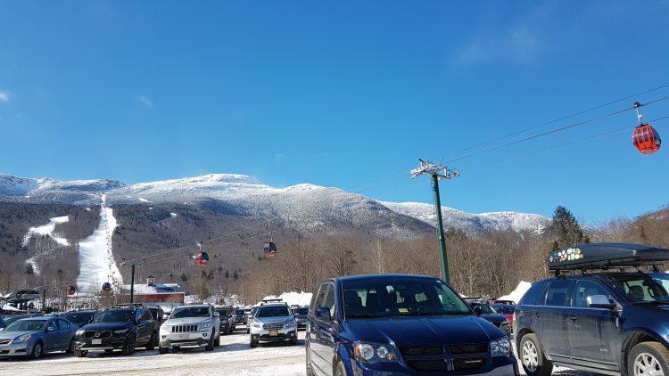 Stowe — 17 mars 2018 — Vive les gondoles quand il fait frette !