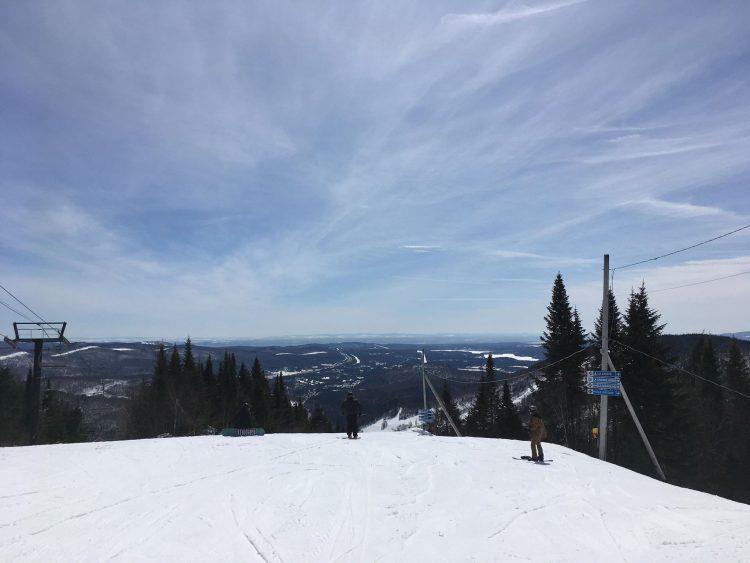 Stoneham | Enfin du skis de printemps | 27 mars 2018
