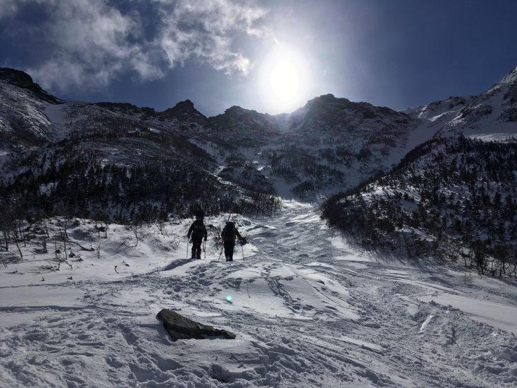 Mont Washington | Le soleil dit bonjour à la montagne | 25 mars 2018