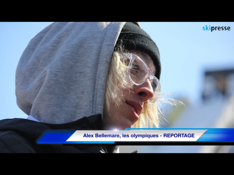 Alex Bellemare, les olympiques – REPORTAGE