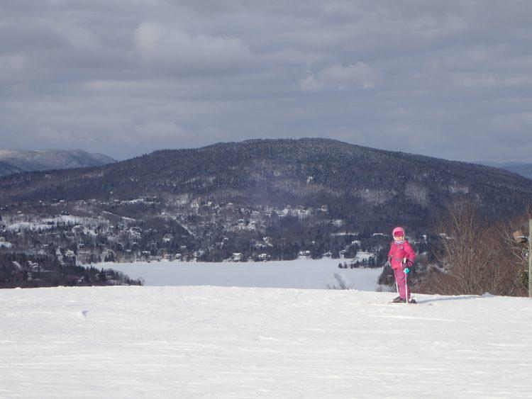 Le Relais, Ski de soir et plein soleil, 12 mars 2018