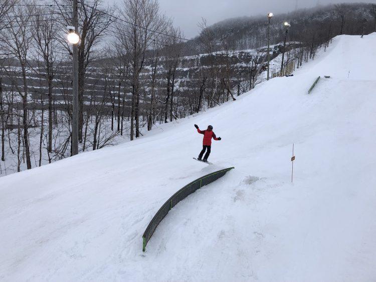 Ski Mont St-Bruno – C'est beauuuu !!!! – 14 mars 2018