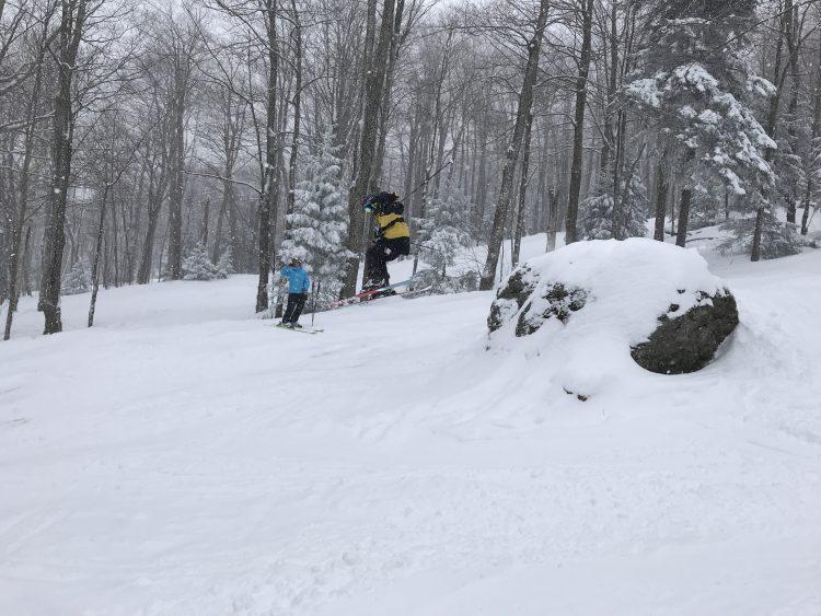 Mont Sutton – De belles conditions pour finir la relâche ! – 10 mars 2018
