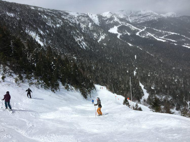 Stowe Mountain Resort – The famous Nosedive ! – 24 mars 2018