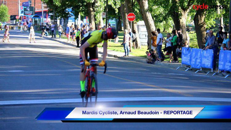 Mardis Cycliste, Arnaud Beaudoin – REPORTAGE