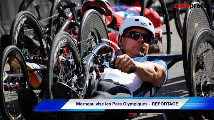 Morneau vise les Para Olympiques – REPORTAGE