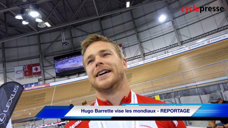 Championnat canadien sur piste – Hugo Barrette