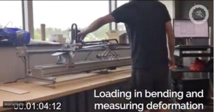 "Machine à ""tester"" les skis !"