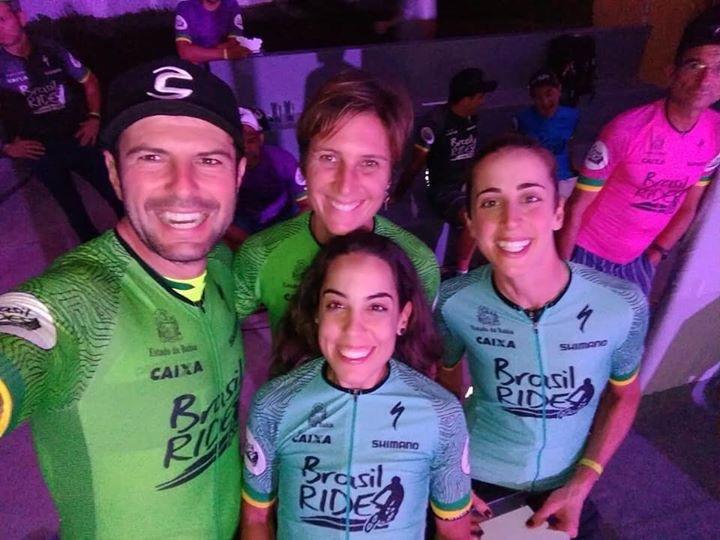 Lyne Bessette – Brasil Ride 6e étape