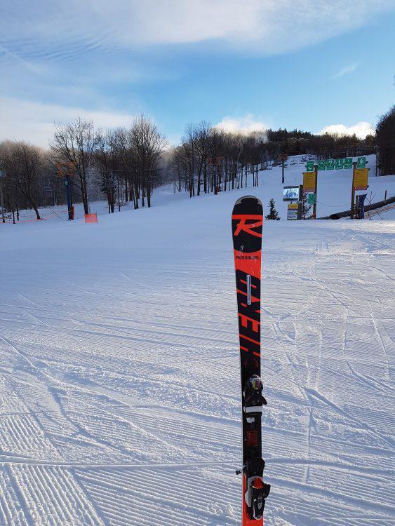 Mont Rigaud le 8 décembre, un début de saison parfait