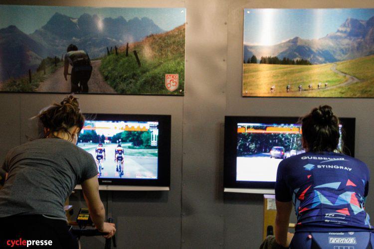 Présentation de l'académie cycliste de Brossard