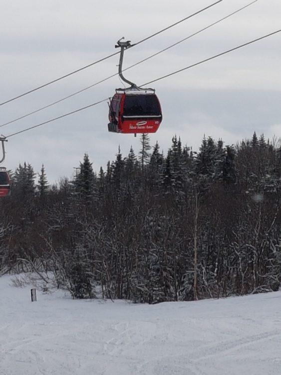 Mont Saint-Anne le 3 janvier: Un entraînement pour les jambes
