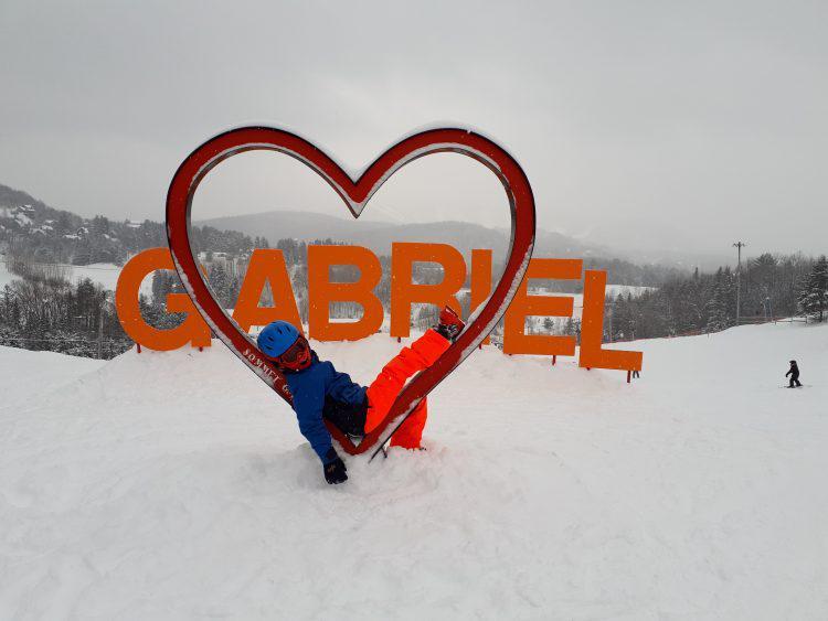 Mont Gabriel, dimanche 27 janvier 2019