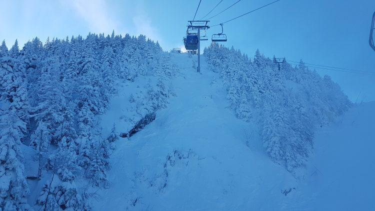 Ski Mont Orford – 30 janvier – Une sacrée belle journée avec beaucoup de poudreuse!