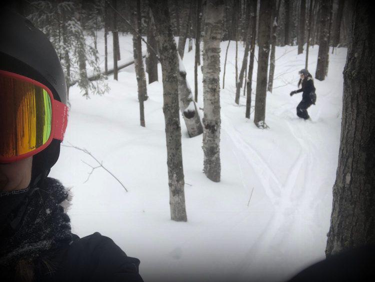 """Sommet St-Sauveur-8 janvier 2019-Sortie ski mère-fille en ce """"Mardi entre filles""""!"""