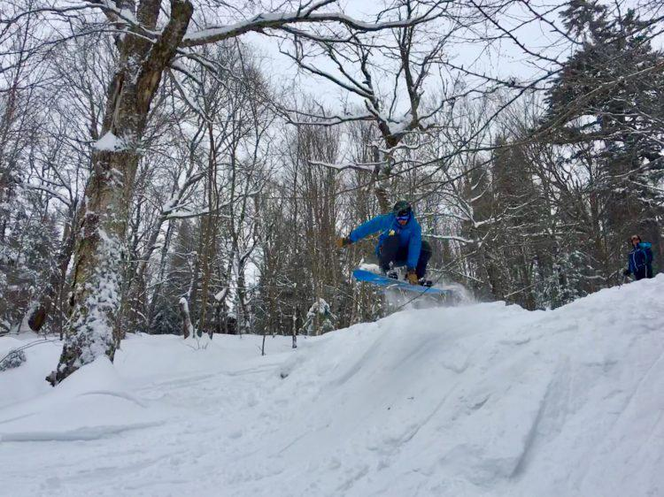 Ski La Réserve- Shred by local skibums! 8 janvier 2019