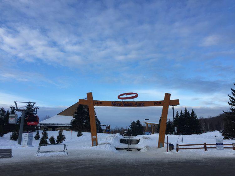 Dimanche 24 février mont Saint-Anne le bonheur en deux temps