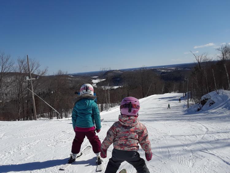 Vallée du Parc – Une belle découverte et de la neige parfaite  – 19 février 2019