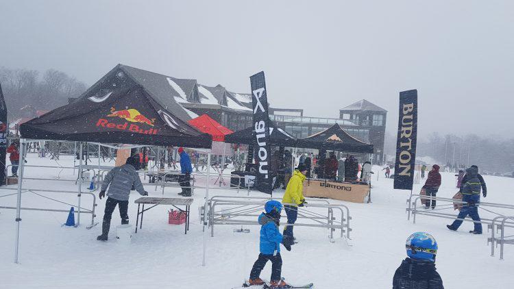 Ski Mont Orford –2 Février 2019 — Tempête de neige et animation au programme