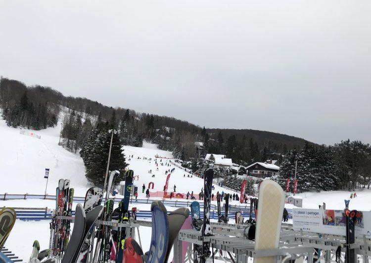 Mont-Habitant, les apprentis skieurs bravent le froid, 3 février 2019