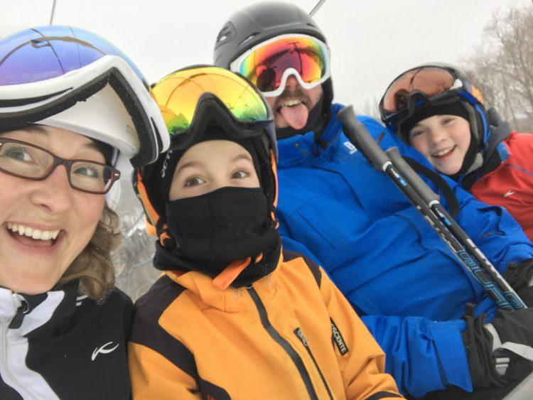 Récit – Le ski en famille, définition du bonheur!