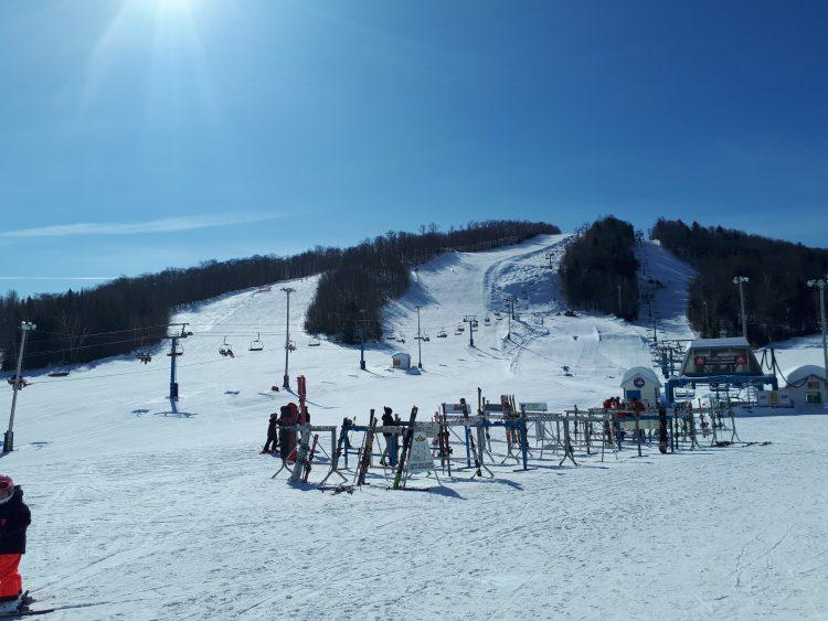 Mont Chantecler, Vendredi 8 mars