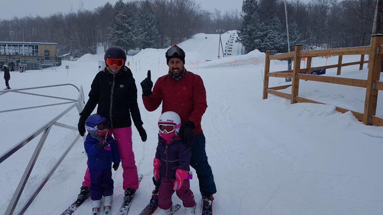 Mont Bellevue – 10 mars 2019 – Première fois toute la famille!!