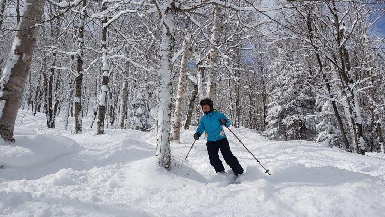 Burke Mountain – Tempête au Vermont ! – 12 mars 2019