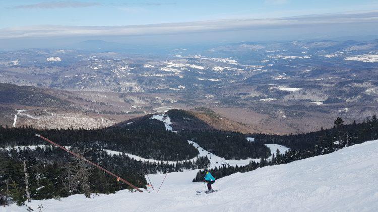 Vermont Sugarbush — 14 mars 2019 — ski de printemps et gros soleil