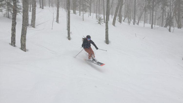 PNJC Secteur Sautauriski, Ski de printemps en hors-piste, 16 mars 2019