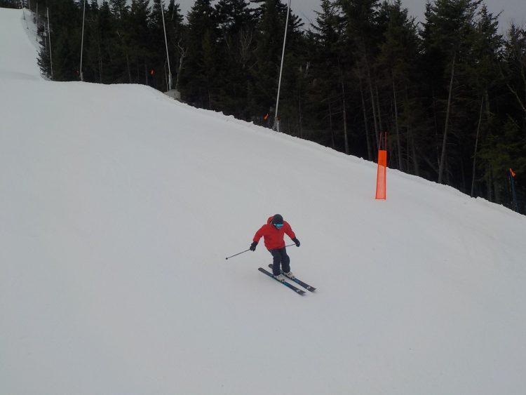 Mont Owl's Head – Une montagne offrant des conditions pour des skis fraîchement aiguisés – 21 mars 2019.