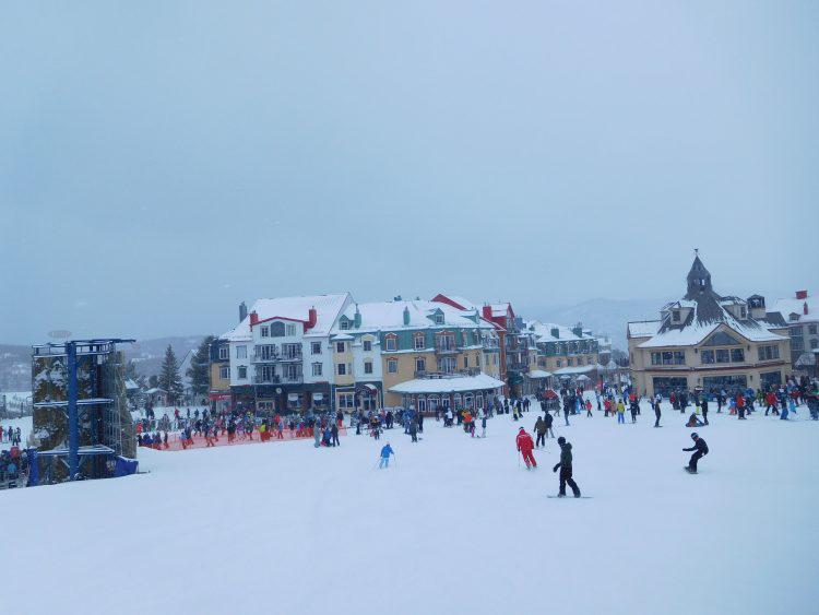 Mont Tremblant, 11 mars, encore de la neige