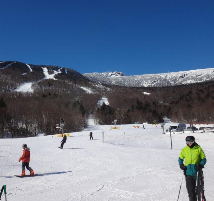 Stowe Vermont 8 mars 2019 Vive le soleil!