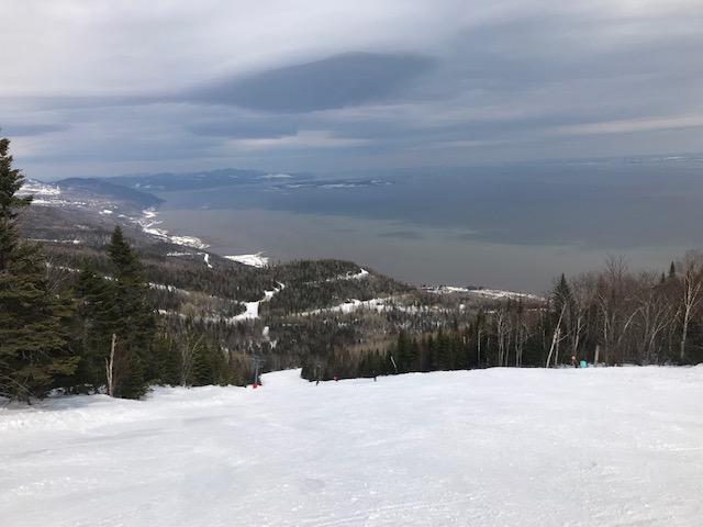 Le Massif de Charlevoix – Vue superbe ! – 28 mars 2019