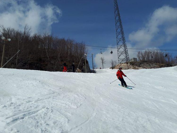 Bromont, 6 avril 2019 Ski de printemps