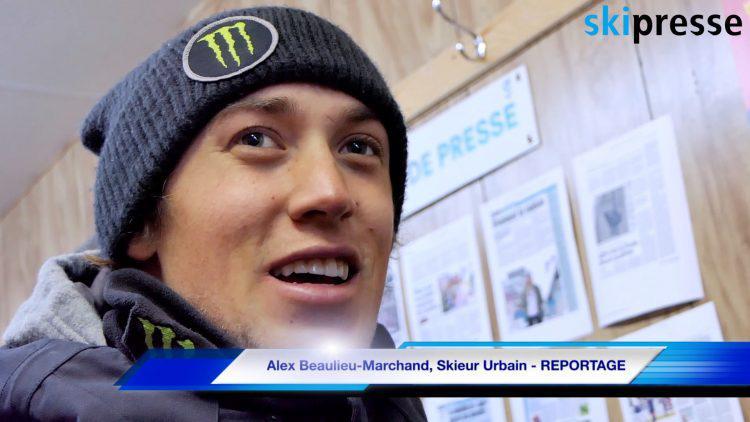 Alex Beaulieu-Marchand, Skieur Urbain – REPORTAGE