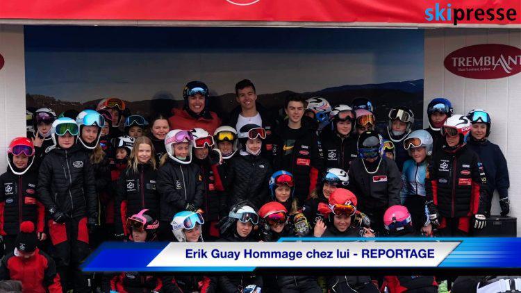 Erik Guay – Hommage chez lui