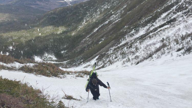 Mont Washington, Deux jours a tuckerman ravine, 22-23 avril 2019