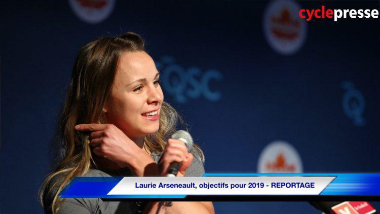 Laurie Arseneault, objectifs pour 2019 – REPORTAGE