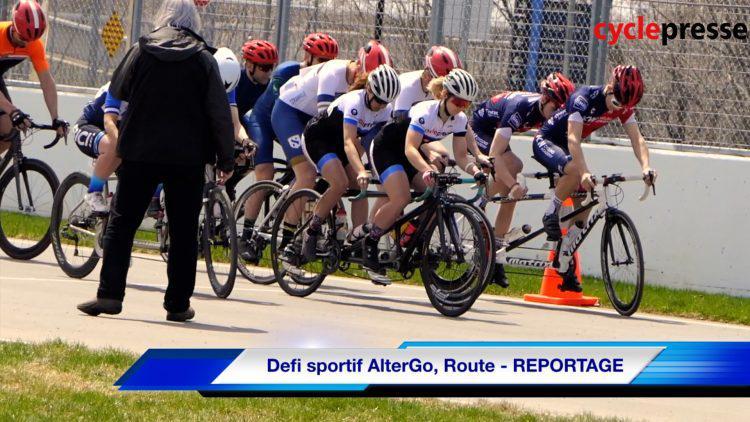 Defi sportif AlterGo, Route – REPORTAGE
