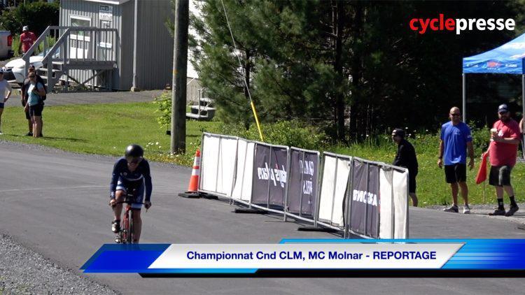 Championnats canadiens – Marie-Claude Molnar – REPORTAGE