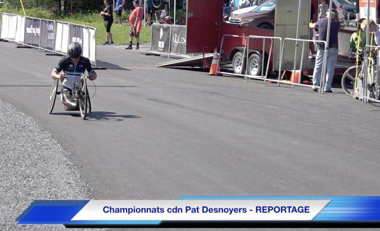 Championnats canadiens – Pat Desnoyers – REPORTAGE