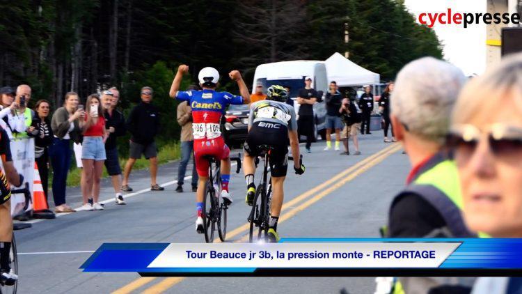 Tour Beauce jr 3b, la pression monte – REPORTAGE