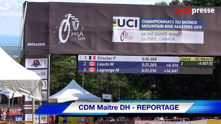 CDM Maitre DH – REPORTAGE