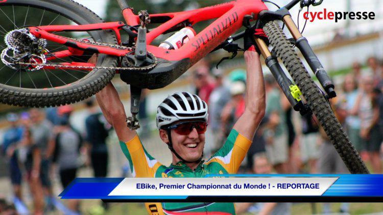 EBike, Premier Championnat du Monde ! – REPORTAGE