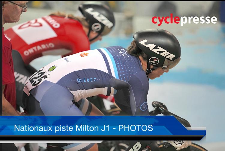 Championnats nationaux sur piste Milton 2019 J1 – PHOTOS